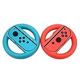 Cewaal 2-Pack-Rad Mario Kart 8 Griffe Controller Griffe für Nintendo Switch Joy-Con