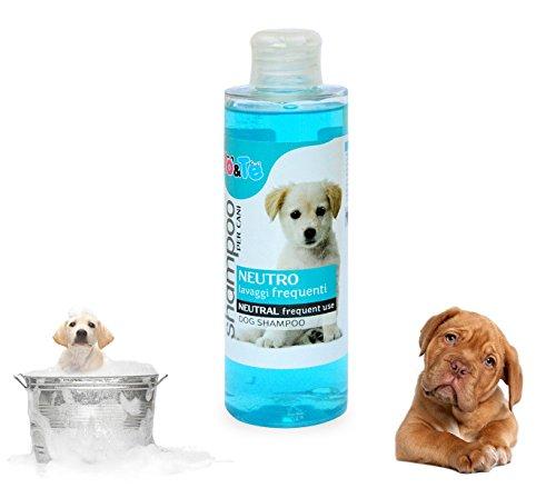 Shampoo per cani neutro aloe vera e pantenolo 200ml IO&TE lavaggi frequenti. MWS