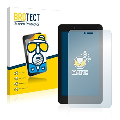 2X BROTECT Matt Displayschutz Schutzfolie für TrekStor SurfTab Breeze 7.0 Quad 3G (matt - entspiegelt, Kratzfest, schmutzabweisend)