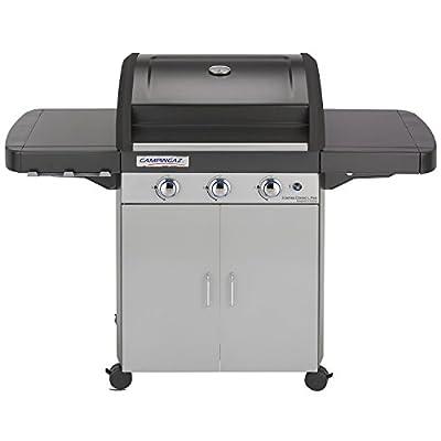 Campingaz Gasgrill 3 Series Classic L Plus, BBQ Grillwagen mit 3 Edelstahlbrennern, Deckel und Thermometer, InstaClean Reinigungssystem und Culinary Modular System
