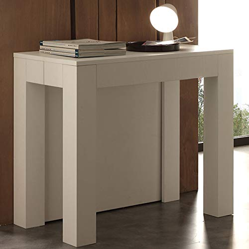M-029 - Mesa consola extensible, color blanco: Amazon.es: Hogar