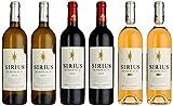 Sirius Bordeaux Wein-Set, Rosé, Weiß und Rot 6er Set (6 x 0.75 l)