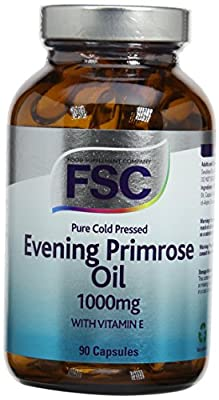 FSC 1000mg Evening Primrose Oil 90 Capsules from The Health Store