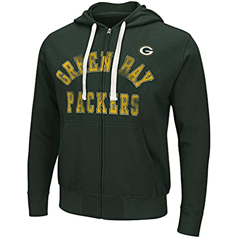 "Green Bay Packers NFL G-III ""Varsity"" Full Zip Hooded Men"