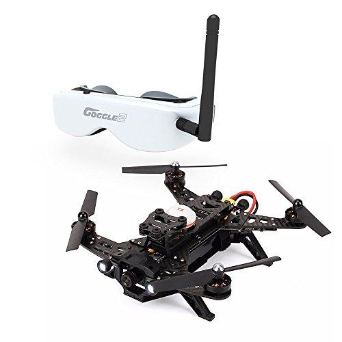 Walkera Runner 250 Racer mit Goggle 2 Videobrille 5,8 GHz