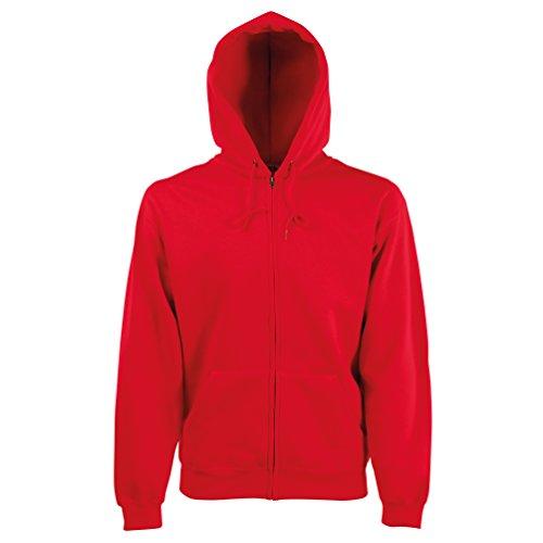 Classic 80/20 giacca felpa con cappuccio Rosso