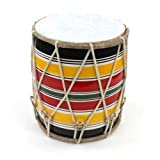 Dholak 8 inch for Kids Folk Instrument Handicraft by Awarded Indian Artisan