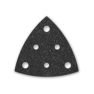 50 MENZER Klett-Schleifblätter für Deltaschleifer 82 mm - Korn 600-6-Loch