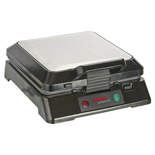 Cooks Professional Electric 4-Slice Sandwich Toaster & Grill/Griddle with Removable Plates, 1800W