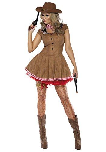 El Carnaval Disfraz Vaquera Adulto
