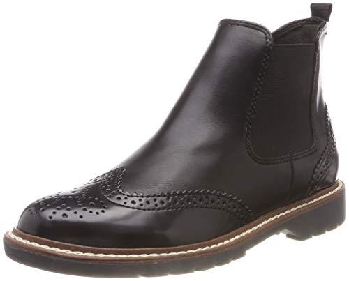 s.Oliver Damen 25444-21 Chelsea Boots, Schwarz (Black 1), 40 EU