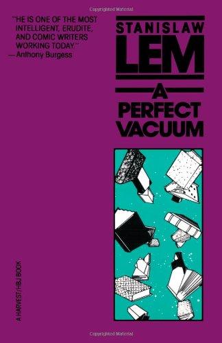 A Perfect Vacuum por Stanislaw Lem