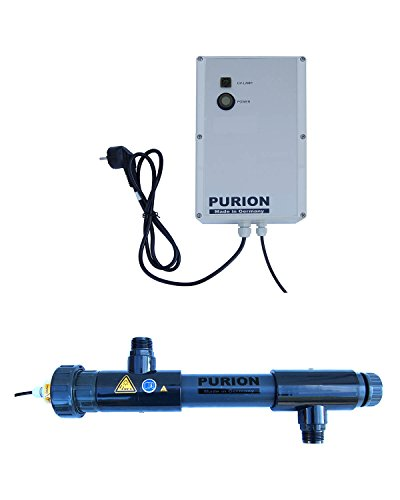 PURION 1000 PVC-U UV-U UV-C UV-C Lampes système UVC Stérilisateur Nettoyeur Nettoyeur Clarifiant
