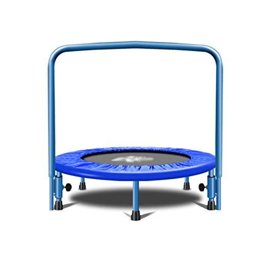 Fitness-Trampolin, Indoor/Outdoor,Höhenverstellbarer Haltegriff, Trampolin für Jumping Fitness, Nutzergewicht bis 150kg, Ø 36inch