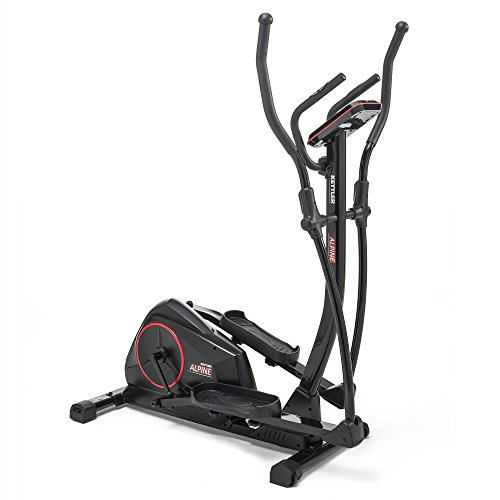 Kettler Unisex Alpine Elliptical Cross Trainer, Black, One Size