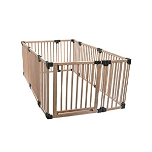 Safetots Play Pen Wooden All Sizes (Large Rectangular)   5