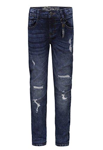 Big Kinder-jeans-bekleidung (Lemmi Hose Jeans Boys Tapered fit SUPERBIG Jungen Blue Denim,128
