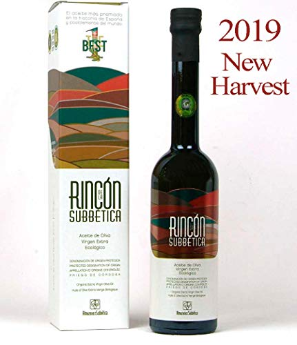 Rincon de la Subbetica 500 ml - Aceite de oliva virgen extra ecológico variedad Hojiblanca Por Oliva Oliva Internet S.L.