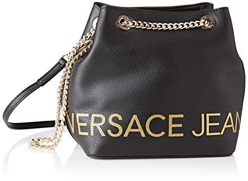 7d1dfd6bb2 Versace Jeans Couture Bag Sac à bandoulière Femme, Noir (Nero) 15x23x23  centimeters (