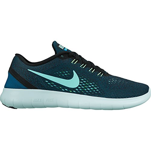 Nike Free Run, Scarpe da Corsa Donna BLACK/HYPER TURQ-GRN