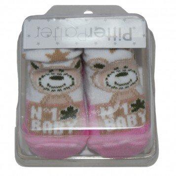 Baby Boy-girl Cadeau de qualité Chaussettes dans une boîte de présentation