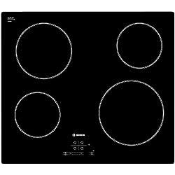 Bosch Plaque de cuisson à vitrocéramique, Noir