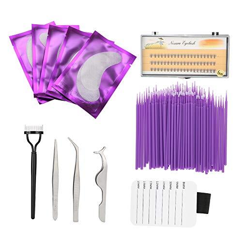 12-in-1 Eye (12-in-1-Wimpernverlängerungs-Kit, professionelles Set mit Werkzeugen zum Auftragen falscher Wimpern für Schönheitssalon- oder Kosmetikerin-Anfänger)