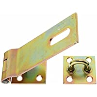Gah-Alberts 348373 - Cerniera di sicurezza, 155 x 50 mm, piastrina 70 mm, spessore materiale 3 mm, in acciaio zincato
