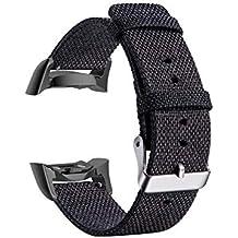 Reloj banda para pulsera muchos colores Hebilla Nylon Canvas Reloj de pulsera Wrist Straps para hombre