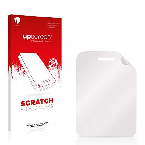 upscreen Scratch Shield Schutzfolie kompatibel mit Wiko Lubi 3 - Kristallklar, Kratzschutz, Anti-Fingerprint