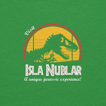 NERDO - Visit Isla Nublar - Herren T-Shirt Grün