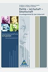 Sozialwissenschaftliche Studien für die Sekundarstufe II: Gesellschaftswissenschaftliche Grundlagentexte Taschenbuch