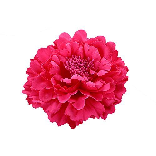 Butterme Multicolor Chiffon Blumen Blütenblatt Haar Clip Bogen Clip Barrettes Zubehör Alligator Clip Mädchen Headwear Kopfschmuck Blume...