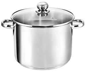 Kopf 122456 Grandis large cooking pot, diameter 26 cm, height 19 cm, 10 litres, stainless steel