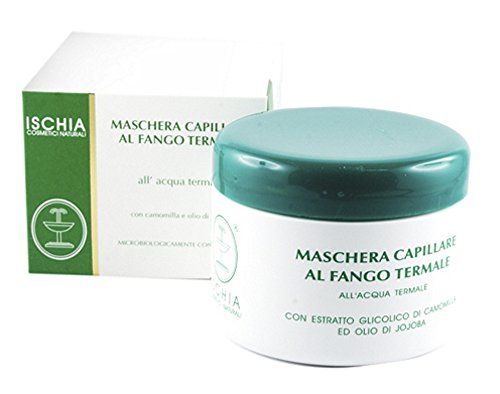 Ischia Cosmetici Naturali Maschera Capillare al Fango Termale - 300 ml