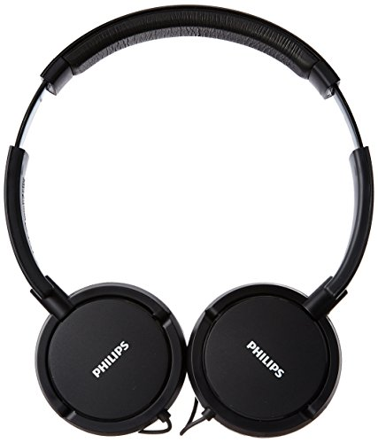 Philips SHL5000/00 On Ear Headphone with Deep Bass (Black) Image 2