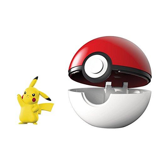 Bandai-Poké Ball y su Figura 5cm Pikachu, 81232