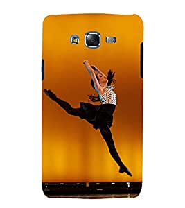 Fuson Premium Back Case Cover Dancing girl With White Background Degined For Samsung Galaxy Grand Neo Plus::Samsung Galaxy Grand Neo Plus i9060i