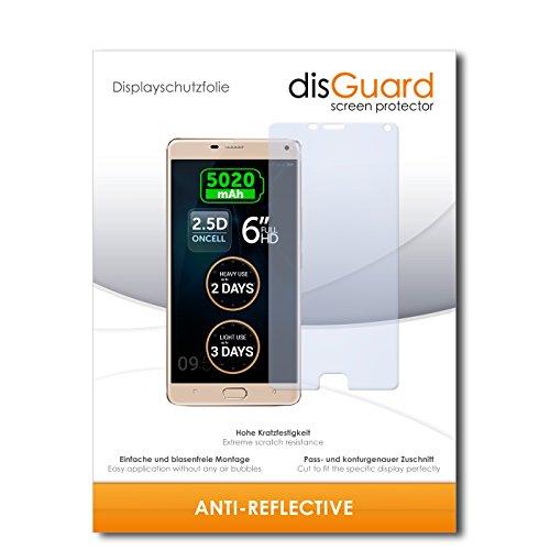 disGuard® Bildschirmschutzfolie [Anti-Reflex] kompatibel mit Allview P8 Energy Pro [2 Stück] Entspiegelnd, Matt, Antireflektierend, Extrem Kratzfest, Anti-Fingerabdruck - Panzerglas Folie, Schutzfolie