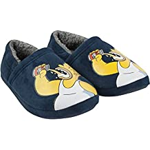 The Simpsons Powered By Duff Men's Slippers