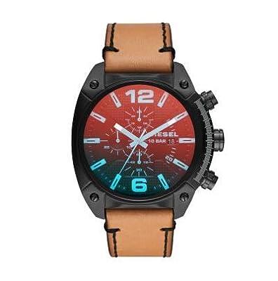 Diesel Reloj Analógico para Hombre de Cuarzo con Correa en Cuero DZ4482