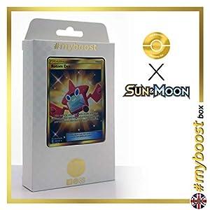 Rotom Dex (RotomDex) 159/149 Entrenadore Secreta - #myboost X Sun & Moon 1 - Box de 10 Cartas Pokémon Inglesas