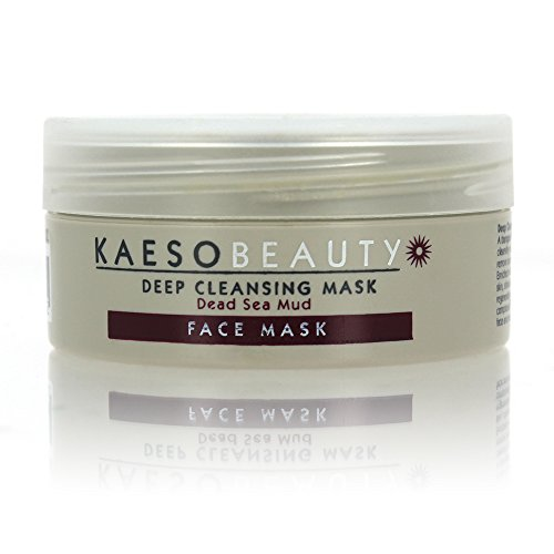 Kaeso Beauty Face Mask Deep Cleansing Mask Dead Sea Mud (95ml) by Kaeso Beauty (English Manual)