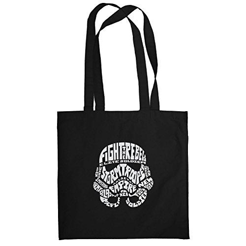 Texlab–String Trooper–sacchetto di stoffa Nero
