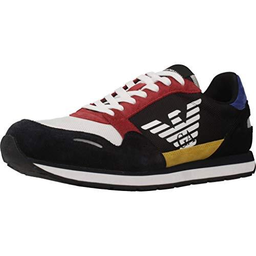 X4X215 XL200 A591 Navy/Black EMPORIO ARMANI Sneakers Uomo 7