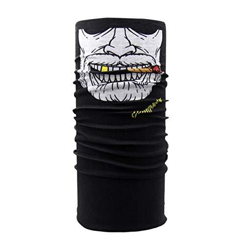 Vazan - outdoor ski mask balaclava clown in bicicletta collo del tubo christmas party bike maschera viso sciarpa [c] nave da us