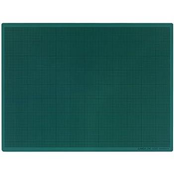 Schneideplatte cm-Raster 2 mm starker Kunststoff  A4 Grün  Schneideunterlage