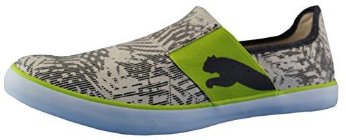 Puma Unisex Lazy Graphic Dp Black Leather Running Shoes - 9 UK/India (43 EU)