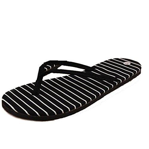 fd8bf211d1e LANDFOX Zapatillas de rayas de piso Zapatillas de playa de verano  Zapatillas de masaje (37 · Ver Precio