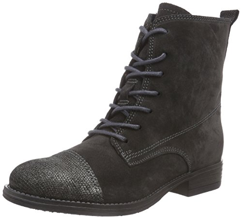 Tamaris 25257 Damen Chukka Boots Mehrfarbig (Graphite/Metal 216)